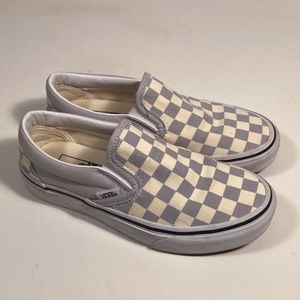 Vans Checkerboard Slip on Sneakers Women Size 5
